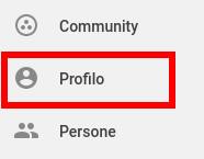 Personalizza il profilo google plus