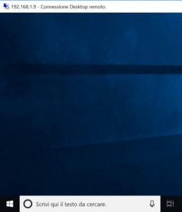Desktop remoto Windows 10