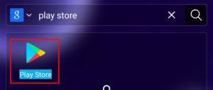 Apri Play Store