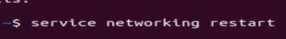 ubuntu network restart