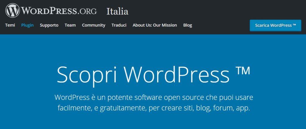 Come creare un sito web con WordPress Firenze